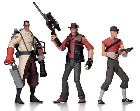 "Team Fortress Action Figures 7"" Series 4 RED Assortment (PRE-ORDER)"