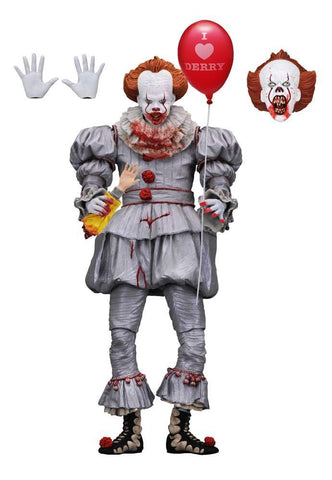 Pennywise (I heart Derry) IT Action Figure Ultimate 7""