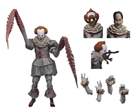 Pennywise IT Action Figure Ultimate Pennywise (Dancing Clown) 18 cm (PRE-ORDER)