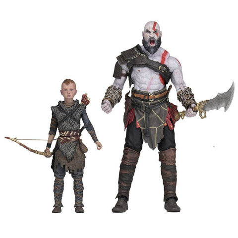 God of War (2018) Ultimate Action Figure 2-Pack Kratos & Atreus