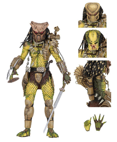 "Predator 1718 Action Figure Ultimate Elder: The Golden Angel 7"" (Pre-Order)"