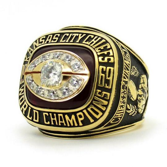 Kansas City Chiefs (1969) Replica Super Bowl Championship Ring