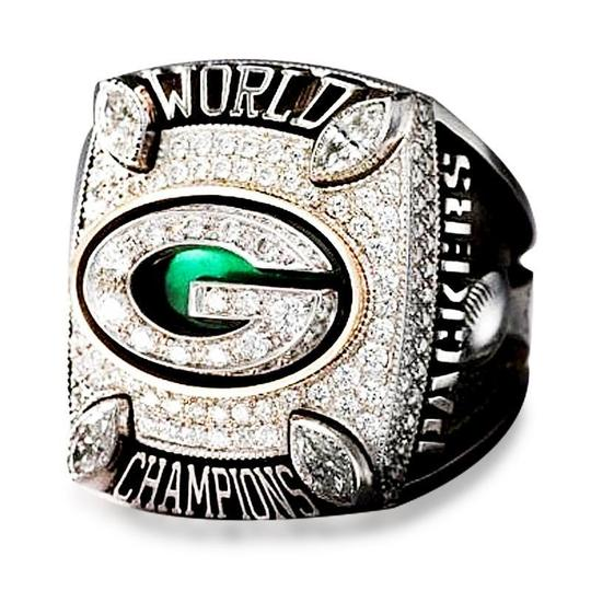 Green Bay Packers (2010) Super Bowl Replica Championship Ring