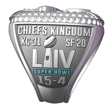 Kansas City Chiefs (2020) Super Bowl Championship Ring (Fan Design)