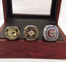 Chicago Cubs Championship Replica Rings Set (1907/1908/2016) - Champ Rings USA