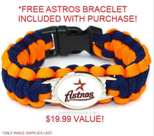 Houston Astros 2017 Replica World Series Championship Bracelet