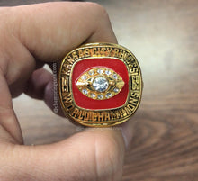 1969 Kansas City Chiefs Replica Super Bowl Championship Ring