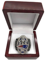New England Patriots (2017) Super Bowl Replica Championship Ring - Champ Rings USA