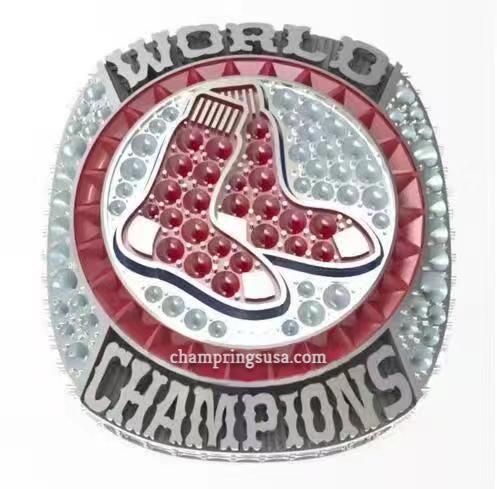 Ring - 2018 Boston Red Sox World Series Championship Ring Replica (Fan Design)