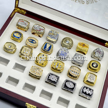 All 52 Super Bowl Championship Replica Rings Set (1966 - 2018) - Champ Rings USA