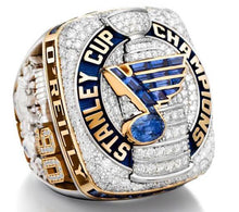 St. Louis Blues (2019) Stanley Cup Championship Ring Replica - Champ Rings USA
