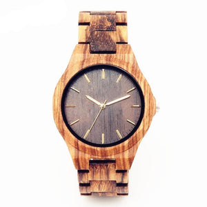 men casual handmade wooden watch