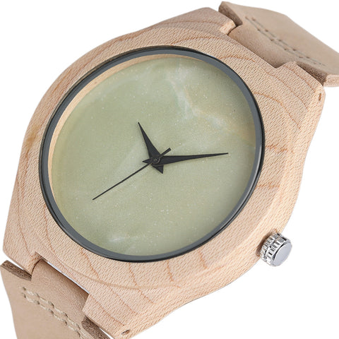 Handmade  Bamboo Wrist Quarzt Watch Casual Sport watch