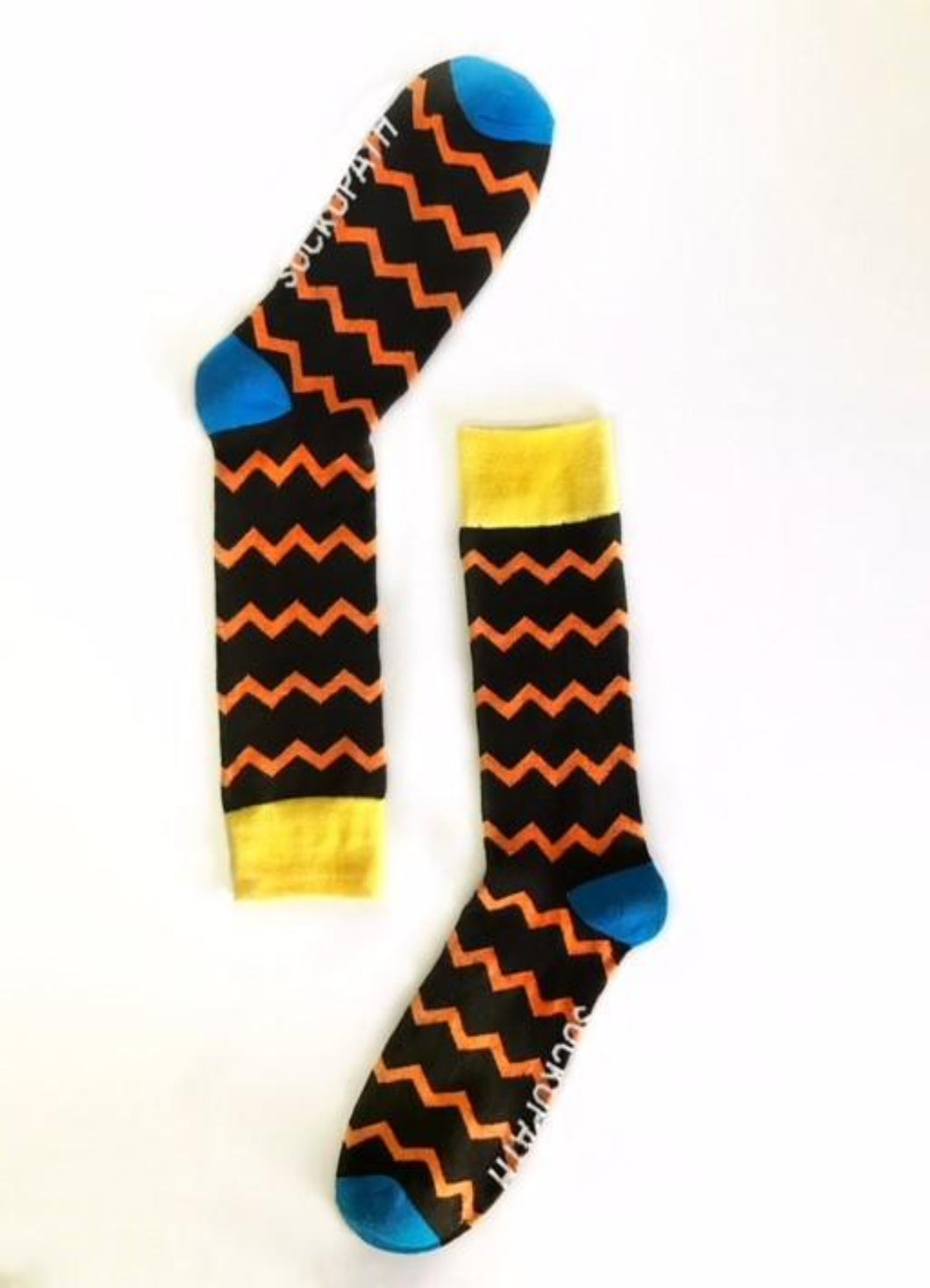 Electric Orange Stripe