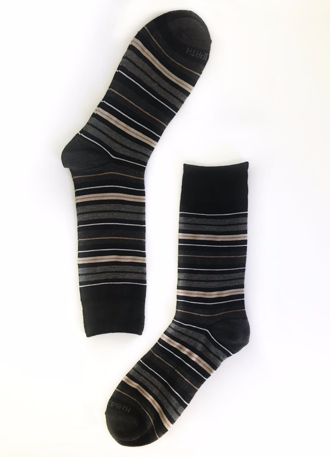 Black & Brown Stripe