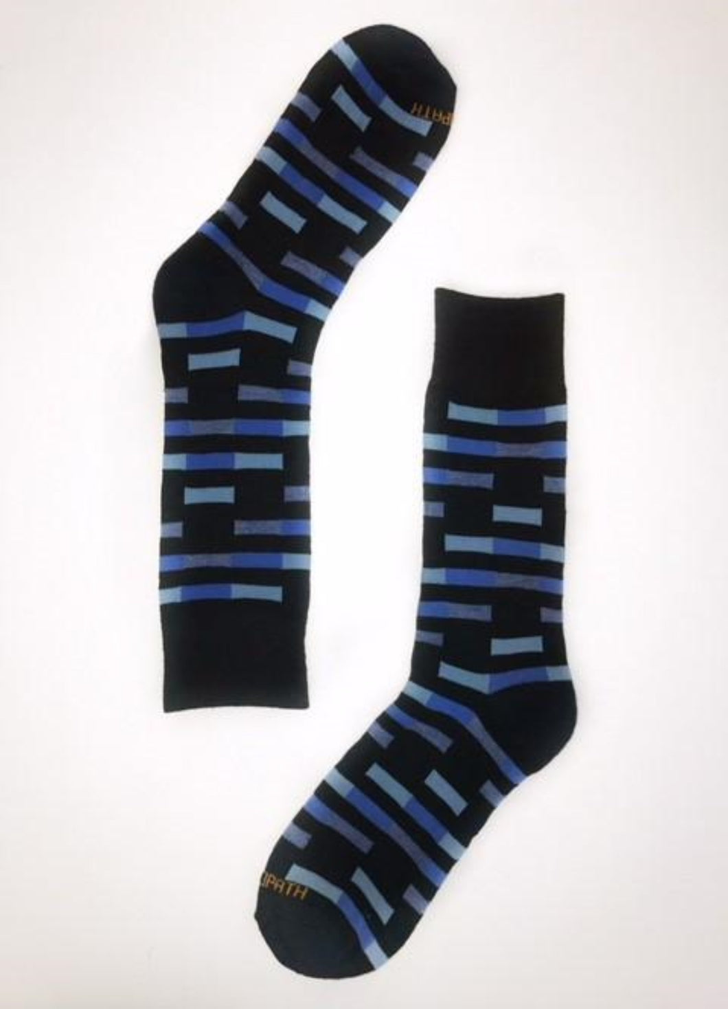 Blue Rectangle Stripes