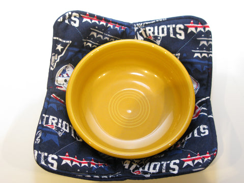 Microwave Bowl Holder - New England Patriots Design