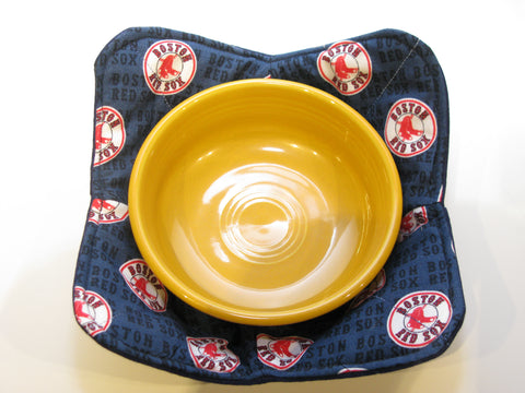 Microwave Bowl Holder - Boston Red Sox Design