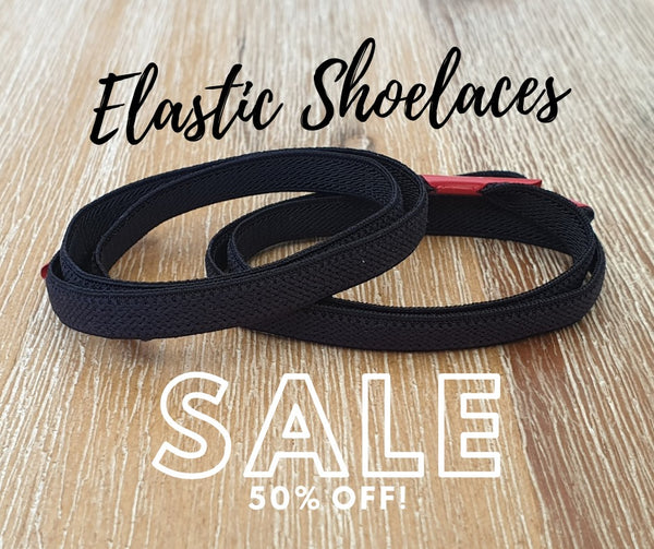 50% off Elastic Shoelaces