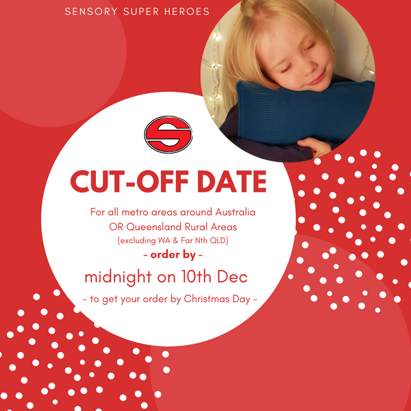 CHRISTMAS CUT-OFF DATES