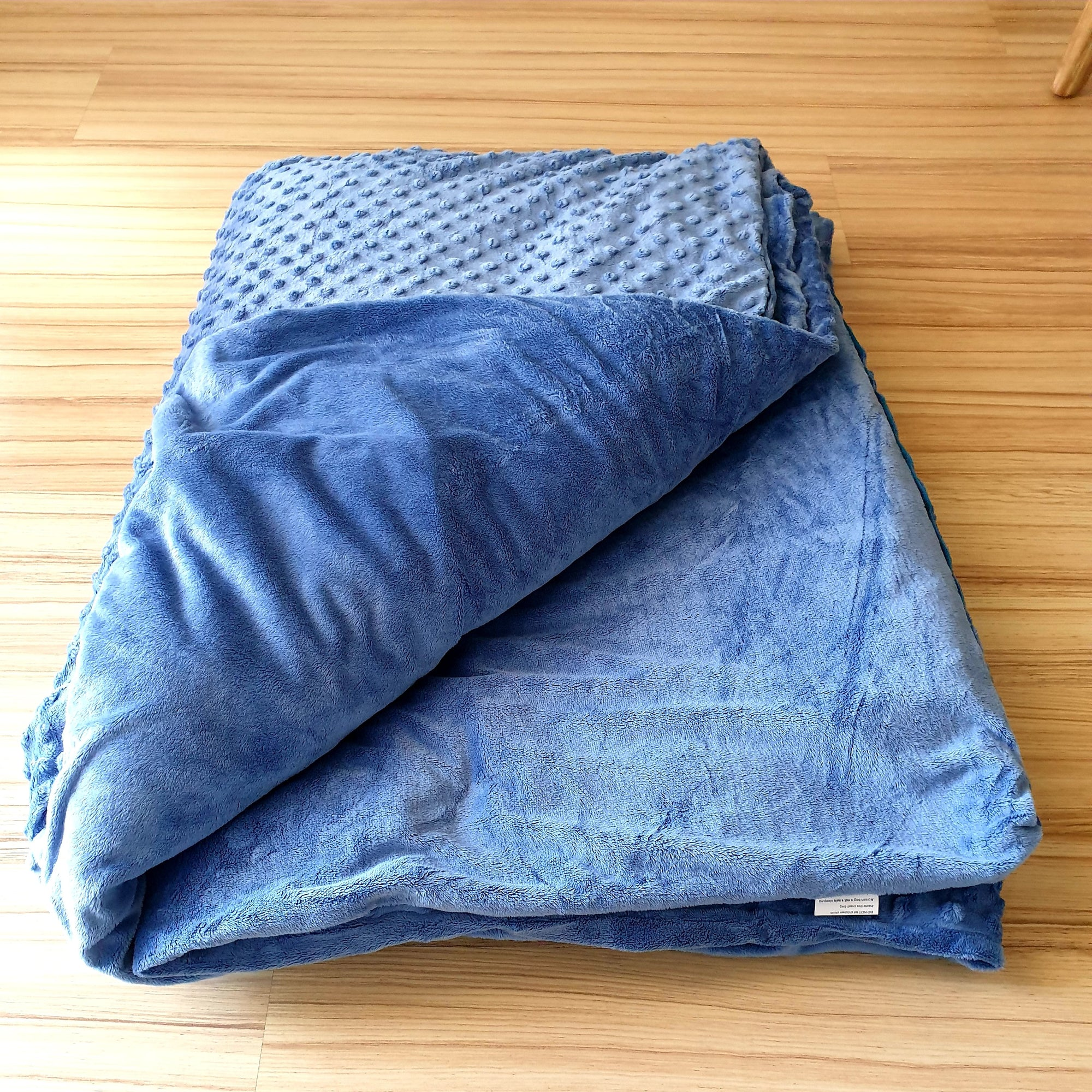 Weighted Blanket Combo with Plush Cover [Padded - Single Bed]