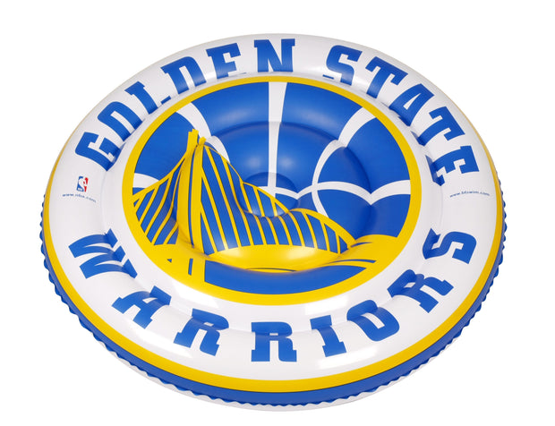 Golden State Warriors 60-inch Large Round Island Pool Float