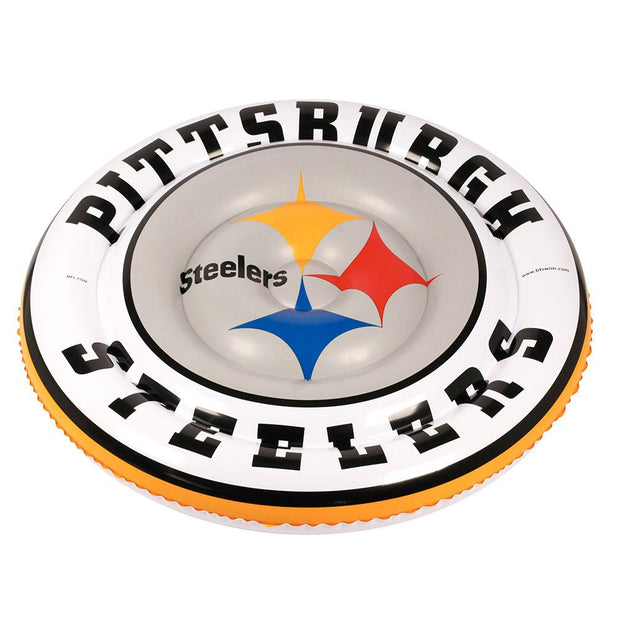 Pittsburgh Steelers 60-inch Large Round Island Pool Float