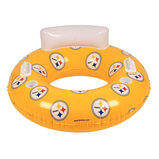 Pittsburgh Steelers 48-inch Inflatable Tube Pool Float