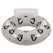 Oakland Raiders 48-inch Inflatable Tube Pool Float