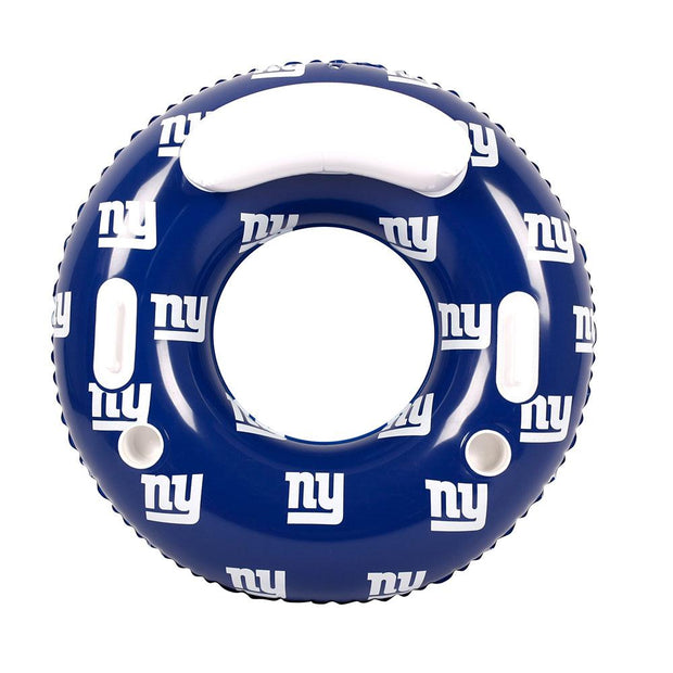 New York Giants 48-inch Inflatable Tube Pool Float