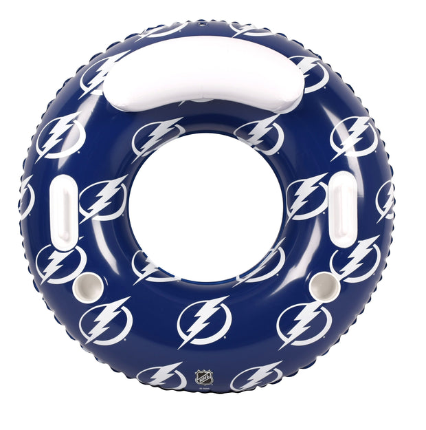 Tampa Bay Lightning 48-inch Inflatable Tube Pool Float