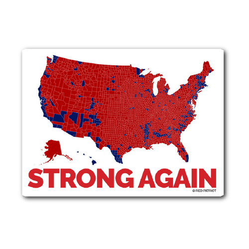 Strong Again Sticker