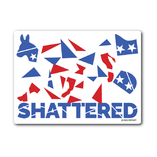 Shattered Sticker