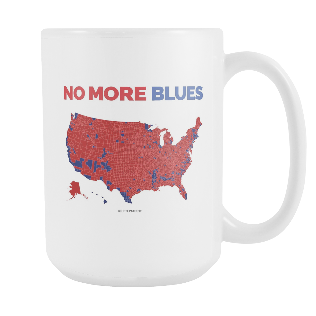 No More Blues Coffee Cup