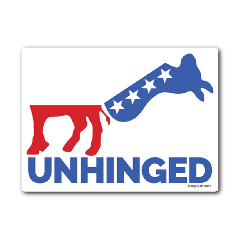 Unhinged Sticker