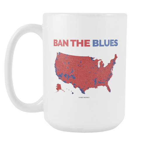 Ban The Blues Coffee Cup