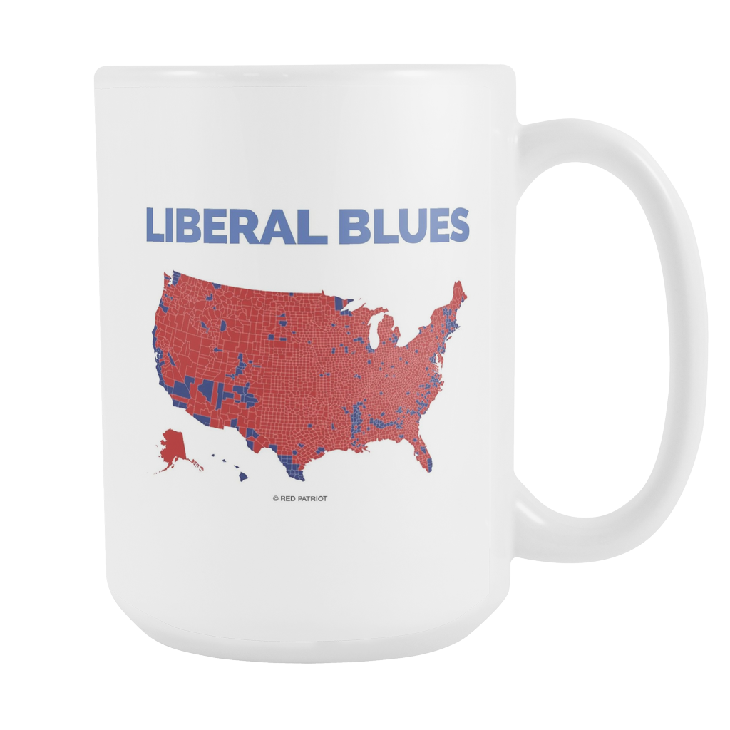 Liberal Blues Coffee Cup