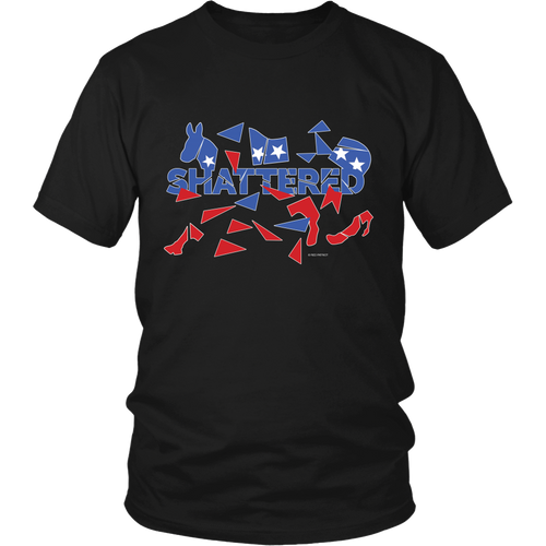 **Limited Quantity**Shattered T-Shirt