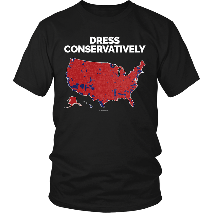 **Limited Print**Dress Conservatively T-Shirt