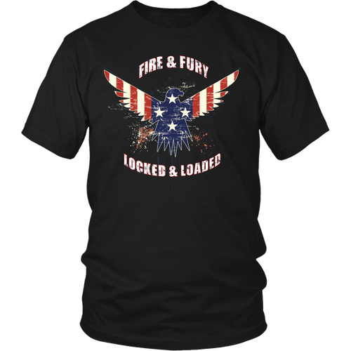 Fire & Fury American Eagle T-Shirt