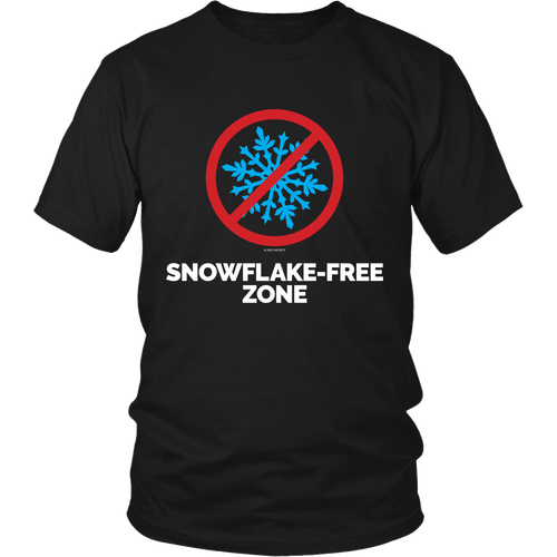 **Limited Quantity**Snow Flake Free Zone T-Shirt