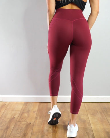 Passion Leggings Maroon