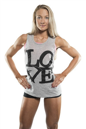LoVe Muscle Tee - Violate The Dress Code