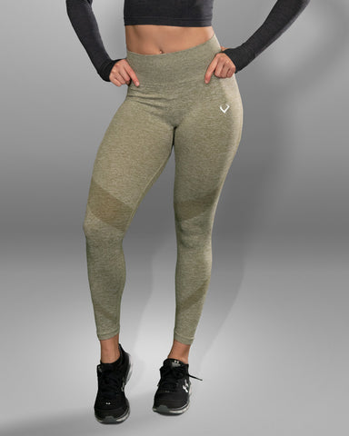 Amore Seamless Olive Leggings