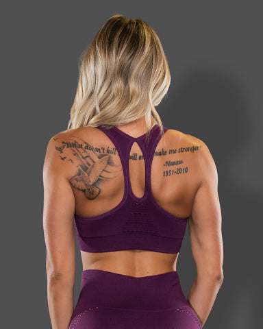 Amore Sports Grape Jelly Bra