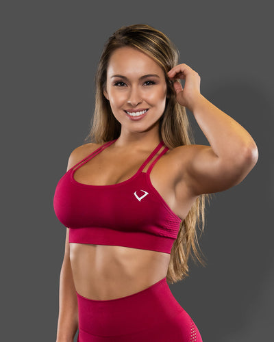 Amore Sports Raspberry Jelly Bra