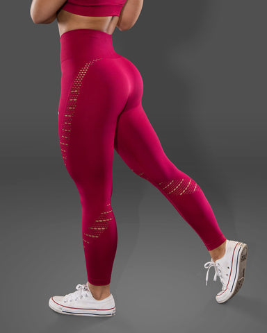 Amore Seamless Raspberry Jelly Leggings