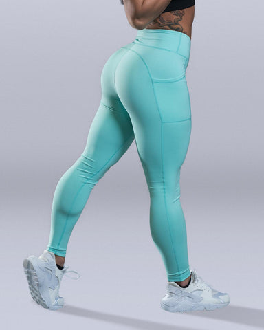 Entice Mint Leggings - Violate The Dress Code