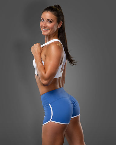 Blue Sugar Shorts