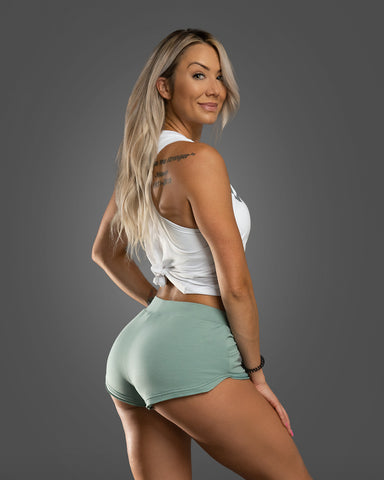 Cheeky Seafoam Shorts